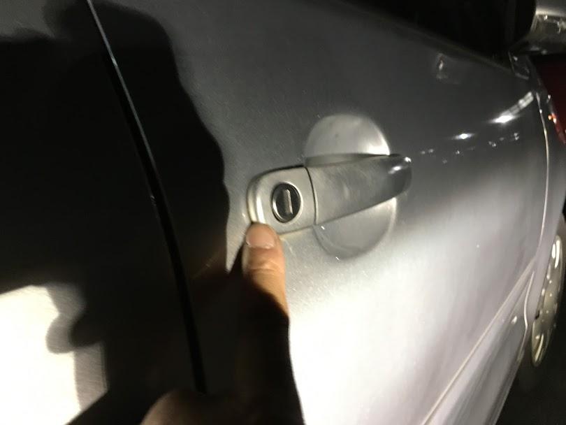 ワーゲンポロのインロック開錠