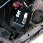 ヴィッツのバッテリー交換