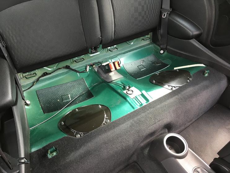 ミニの燃料フィルター交換